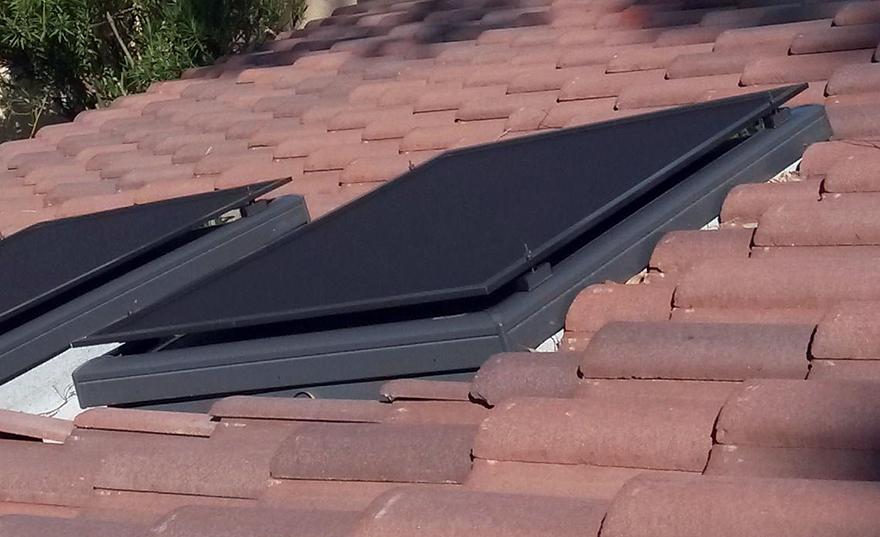 Our FL Model Skylight Shade